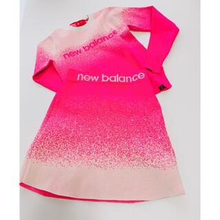 New Balance - ニューバランスゴルフ ③点セット ピンク 長袖トップス スカート パンツ
