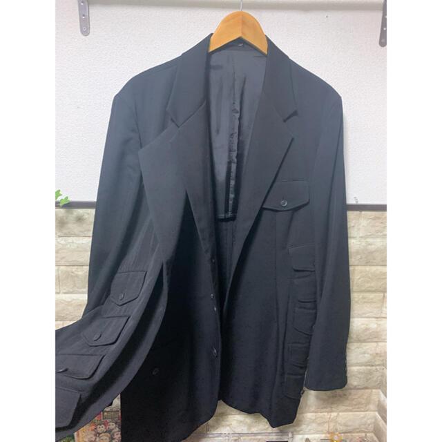 Yohji Yamamoto(ヨウジヤマモト)のyohjiyamamoto19ss テーラードジャケット メンズのジャケット/アウター(テーラードジャケット)の商品写真