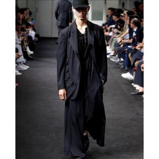 Yohji Yamamoto - yohjiyamamoto19ss テーラードジャケット