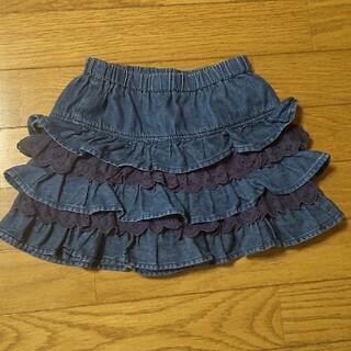 ミキハウス(mikihouse)のミキハウス デニムスカート 110cm(スカート)
