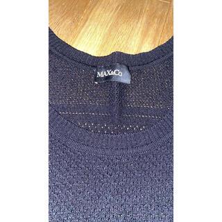 マックスアンドコー(Max & Co.)のマックスアンドコー 黒 ニット(ニット/セーター)