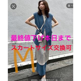 アメリヴィンテージ(Ameri VINTAGE)の※スカートサイズ交換可otona wrap vest set up dress(セット/コーデ)