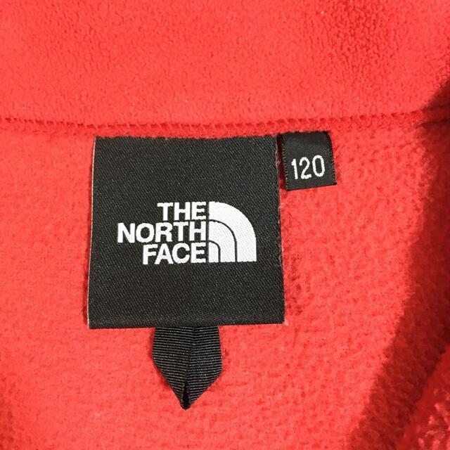 THE NORTH FACE(ザノースフェイス)のTHE NORTH FACE フリースジャケット キッズ/ベビー/マタニティのキッズ服男の子用(90cm~)(ジャケット/上着)の商品写真