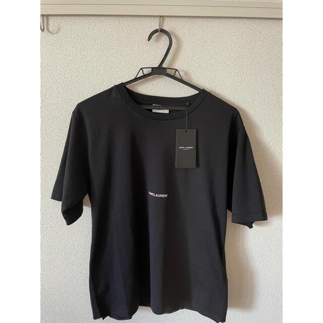 Saint Laurent(サンローラン)のサンローラン Tシャツ 黒 メンズのトップス(Tシャツ/カットソー(半袖/袖なし))の商品写真