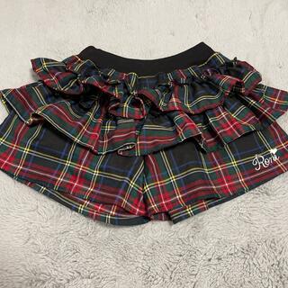 ロニィ(RONI)のRONI  キュロットスカート Lサイズ(スカート)