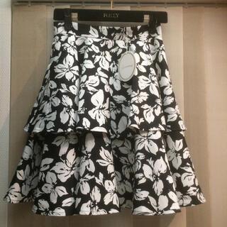 アベニールエトワール(Aveniretoile)の新品未使用 アベニールエトワール ティアードスカート(ひざ丈スカート)