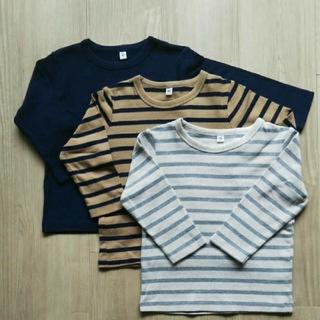 MUJI (無印良品) - 長袖Tシャツ 無印良品 90