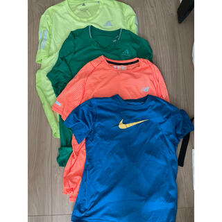adidas - 男の子 スポーツブランドTシャツ4枚