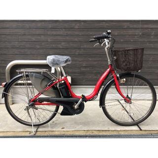 ヤマハ(ヤマハ)の地域限定送料無料 パス ナチュラ 新基準 15,4AH 赤 神戸市 電動自転車 (自転車本体)