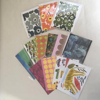 マリメッコ(marimekko)のmarimekko ポストカード メッセージカード セット(その他)