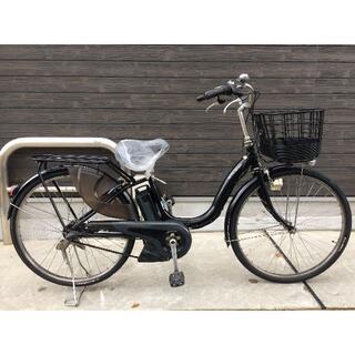 ヤマハ(ヤマハ)の地域限定送料無料 パス ナチュラ 新基準 12,3AH 黒 神戸市 電動自転車 (自転車本体)