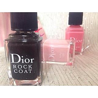 ディオール(Dior)のDIOR マニキュア ネイルエナメルロックコート(マニキュア)