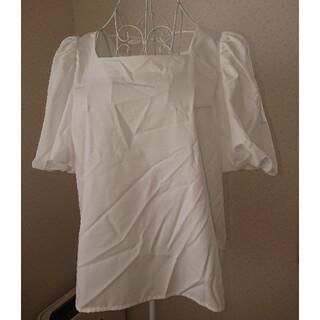 ミッシュマッシュ(MISCH MASCH)の未使用タグつき ミッシュマッシュのボリューム袖トップス(カットソー(半袖/袖なし))