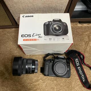 Canon - Canon EOS Kiss X6i  SIGMA art F1.4