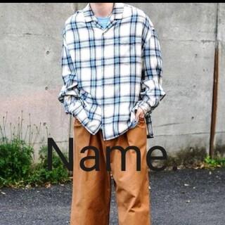 STUDIOUS - Name. あのレアシャツを!  ビッグシルエットオープンカラー シャツ ネイム