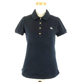 バーバリーブルーレーベル(BURBERRY BLUE LABEL)のバーバリーブルーレーベル ポロシャツ 半袖 38 ダークネイビー 210906E(ポロシャツ)