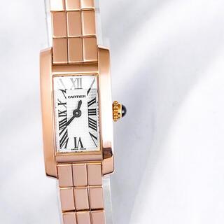 Cartier - 【保証書付】カルティエ タンクアロンジェ ラニエール PG レディース 時計