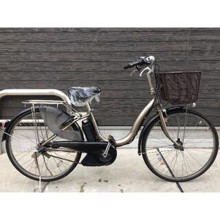 ヤマハ(ヤマハ)の地域限定送料無料 ナチュラ 新基準 8,7AH ゴールド 神戸市 電動自転車 (自転車本体)