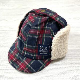 ポロラルフローレン(POLO RALPH LAUREN)のポロベビー 帽子 46センチ(帽子)