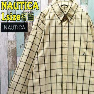 NAUTICA - 【レア】ノーティカ☆BDシャツ チェック柄 ビッグシルエット