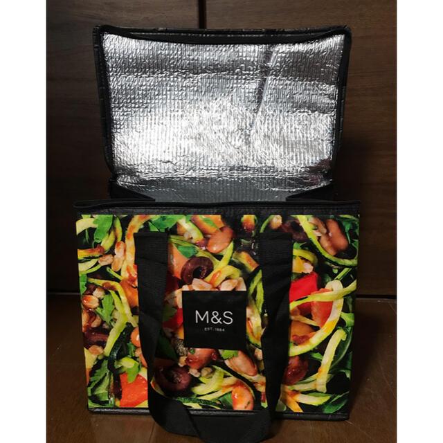 Harrods(ハロッズ)の新品未使用タグ付!イギリス発 マークス&スペンサー 保冷エコバッグ レディースのバッグ(エコバッグ)の商品写真
