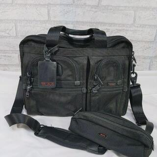 トゥミ(TUMI)のTUMI 専用ポーチ付き ビジネスバッグ Alpha エクスパンダブル 2way(ビジネスバッグ)