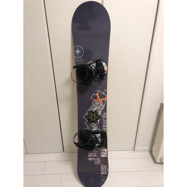 HEAD(ヘッド)のHEAD スノーボード バインディング セット 初心者 おまけ付き 傷少なめ スポーツ/アウトドアのスノーボード(ボード)の商品写真