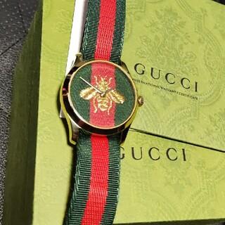Gucci - グッチ タイムレス 腕時計 ゴールド ビー GUCCI 蜂 ベルト