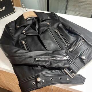 ACNE - ACNE アクネストゥディオズ ライダースジャケット