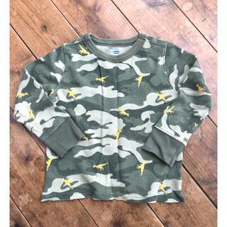 オールドネイビー(Old Navy)のワッフルロンT  95 長袖(Tシャツ/カットソー)