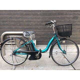 ヤマハ(ヤマハ)の地域限定送料無料 パス ナチュラ 新基準 8,7AH 青系 神戸市 電動自転車 (自転車本体)