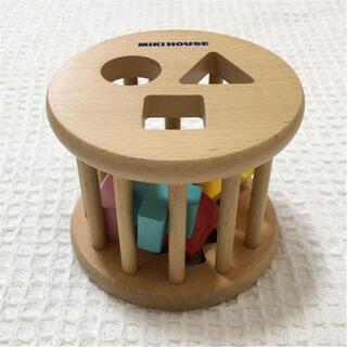 ミキハウス(mikihouse)のMIKIHOUSU  ローリングパズル(知育玩具)