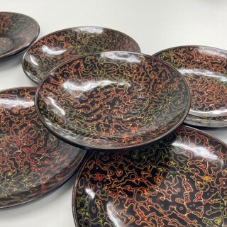 ー茶托5枚/銘々皿5枚セットー(食器)