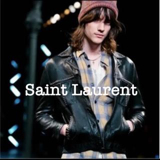 サンローラン(Saint Laurent)の<Hedi期> Saint Laurent 16ss スタッズ レザージャケット(レザージャケット)