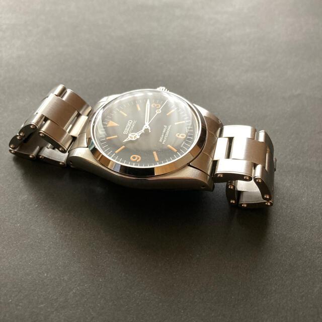 SEIKO(セイコー)のSEIKO mad エクスプローラーカスタム ヴィンテージ  プラ風防 自動巻 メンズの時計(腕時計(アナログ))の商品写真