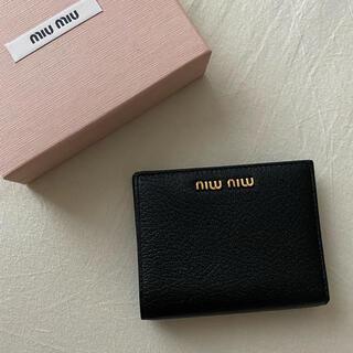 miumiu - miumiu マドラスカラーレザー 財布