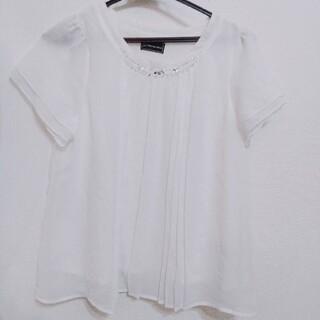 スーツカンパニー(THE SUIT COMPANY)のpsfa ブラウス オフィス(シャツ/ブラウス(半袖/袖なし))