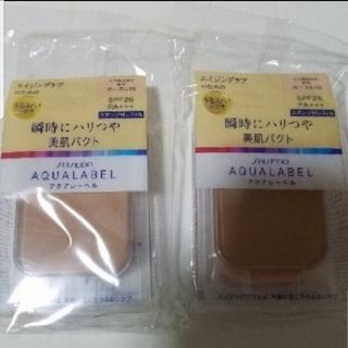 AQUALABEL - アクアレーベル やや明るめの肌色 オークル10〈ファンデーション〉レフィル
