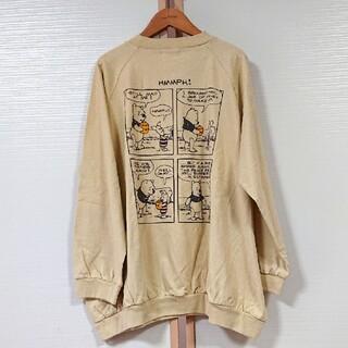 サマンサモスモス(SM2)のSM2  Disney くまのプーさん バックプリントロンT 新品 サマンサ(Tシャツ(長袖/七分))