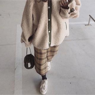 サイ(Scye)のscye プレイドウール ペンシルスカート(ひざ丈スカート)