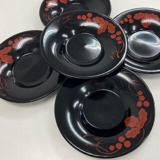 ー茶托 5枚セットー(漆芸)