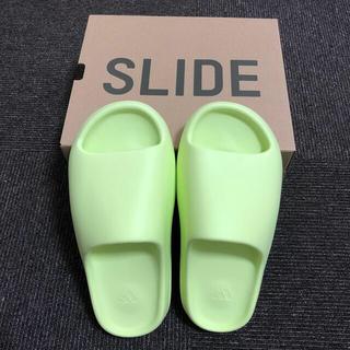 adidas - ADIDAS YEEZY SLIDE GLOW GREEN 26.5 cm