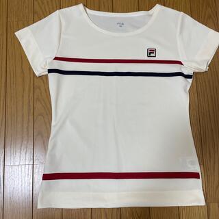 フィラ(FILA)のフィラ ゲームシャツ M クリーム色(ウェア)