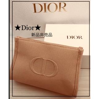 Christian Dior - 新品非売品★Dior★ディオール ポーチ サクラピンク お箱付き.*・゜
