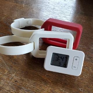 ムジルシリョウヒン(MUJI (無印良品))の無印良品 タグツール アラームクロック 美品(置時計)