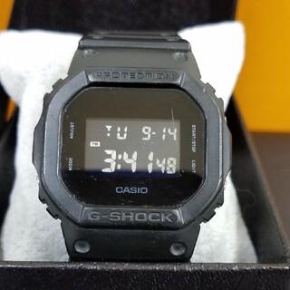 ジーショック(G-SHOCK)のG-shock DW5600BB 電池交換済み(腕時計(デジタル))