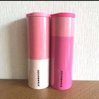 Starbucks Coffee - ★新品★スターバックス タンブラー さくら ダークピンク ライトピンク