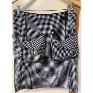 シーバイクロエ(SEE BY CHLOE)の中古 羊毛ひざ丈スカートSEE BY CHLOE イタリア製(ひざ丈スカート)