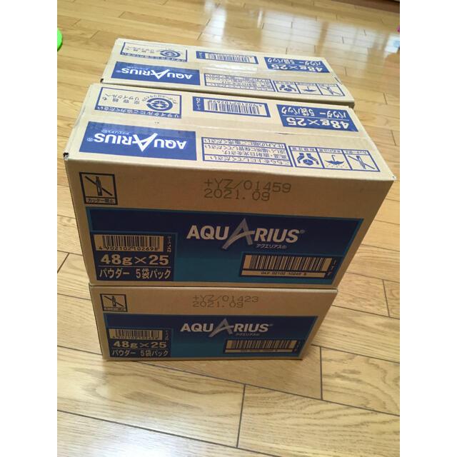 コカ・コーラ(コカコーラ)のアクエリアス 粉末 4ケース 100袋 食品/飲料/酒の飲料(ソフトドリンク)の商品写真