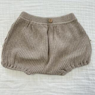 futafuta - 【韓国子供服】コットンニットブルマ xs 80 新品未使用